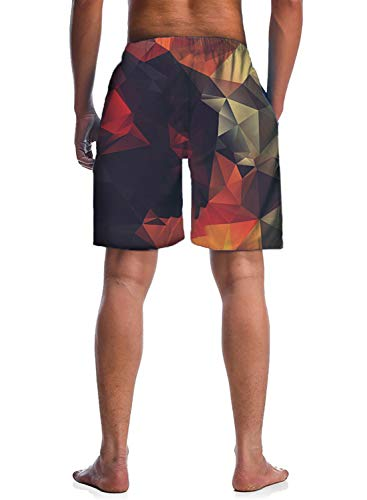 Generic Mens Casual Sports Shorts Fashion Camouflage Stitching Trunks Board Shorts