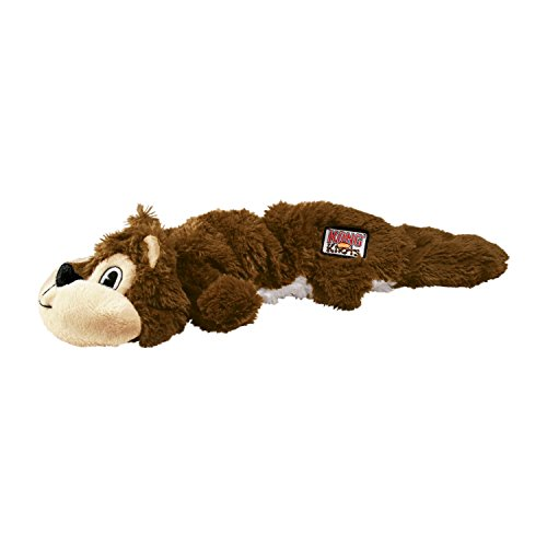 KONG Scrunch Knots Squirrel Dog Toy, Small/Medium