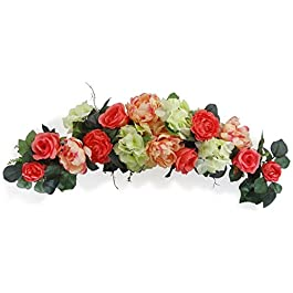 32″ Rose/Peony Swags –...