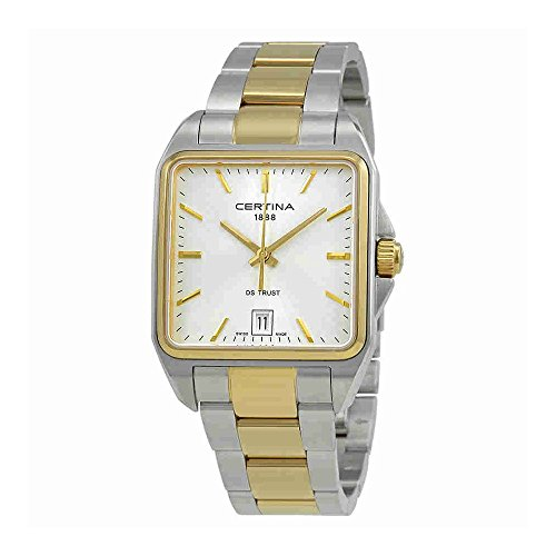 Certina DS Trust Stainless Steel Two-Tone Ladies Quartz Watch C0195102203100