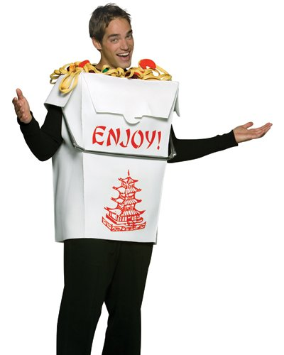 Chinese Costumes For Halloween (Adult Chinese Take Out Costume)