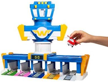 Auldey- Playset Quartier Général des Super Wings-Saison 3 + 1 Figurine Transform-a-bot-EU730830