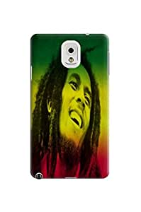 fashionable Samsung Galaxy Note 3 case with high quality waterproof TPU Cool Bob Marley cellphone accessory Case Cover