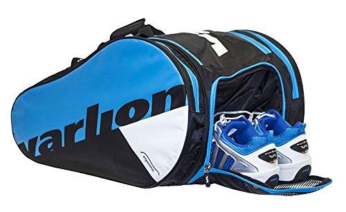 Varlion Ergonomic Azul - Paletero de pádel, Unisex Adulto, Azul/Negro/Blanco: Amazon.es: Deportes y aire libre