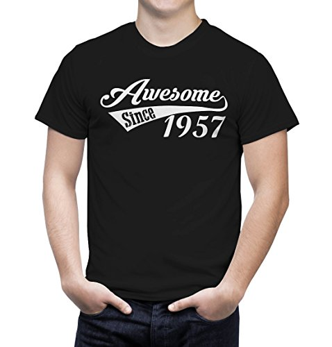 Funny Tee Shirt Awesome Since 1957 60th Birthday Gifts for Husband Father Grandpa (4XL, - Hate Glasses I Hipster