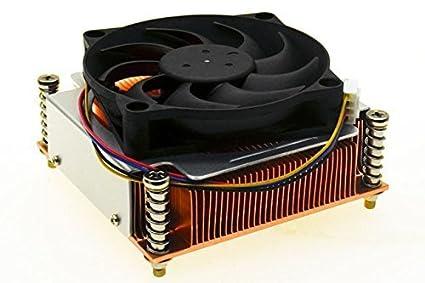 Delta High Performance 2U Pure Copper Active Heatsink (Square Type) for Intel Core i7-5820K; i7-5930K; i7-5960X Haswell-E 6-Core or 8-Core Socket LGA2011 / LGA2011-V3 Fans & Cooling at amazon
