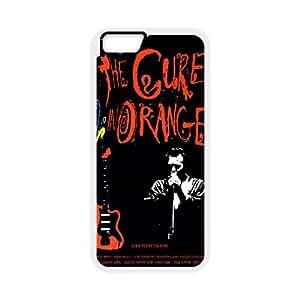 The Cure 007 funda iPhone 6 Plus 5.5 Inch Cubierta blanca del teléfono celular de la cubierta del caso funda EVAXLKNBC16609