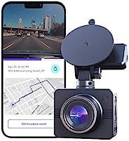 Nexar Beam GPS | Full HD 1080p Dash Cam | 2021 Model | 32 GB SD Card Included | Unlimited Cloud Storage | Park