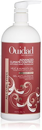 OUIDAD Advanced Climate Control Heat & Humidity Stronger Hold Gel, 33.8 Fl Oz