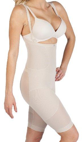 Cuerpo Después de bebé Leilani post-pregnancy Body Shaper compresión apoyo Color piel (nude)