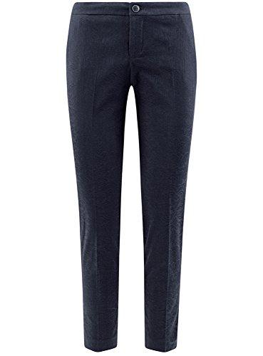 Stretti Donna Blu Pantaloni Oodji In Collection 7900j Jacquard w15gqtA