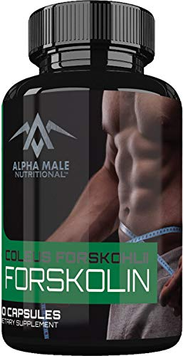 Alpha Male Nutritional Forskolin Capsules product image