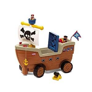 Little Tikes - Play 'n' Scoot - Carrito con Forma de Barco Pirata