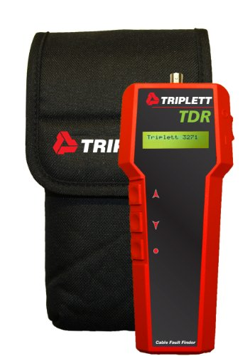 Triplett TDR 3271 Cable Length Meter and Fault Finder with Tone Generator (Discontinued by Manufacturer) (Cable Tdr Finder Fault)