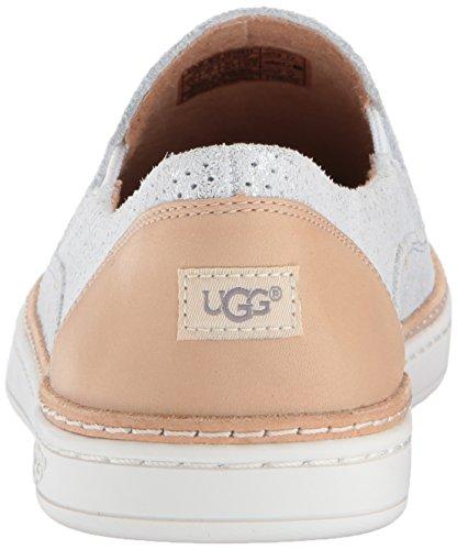 Ugg Womens Adley Perf Stardust Sneaker Argento