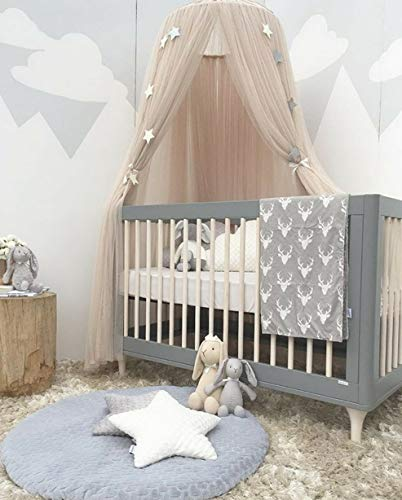 Hebel Kids Baby Bed Cotton Canopy Bedcover Mosquito Net Curtain Bedding Dome Tent BJ | Model BDCNPS - 202 |