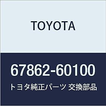 TOYOTA Genuine 67862-60100 Door Weatherstrip