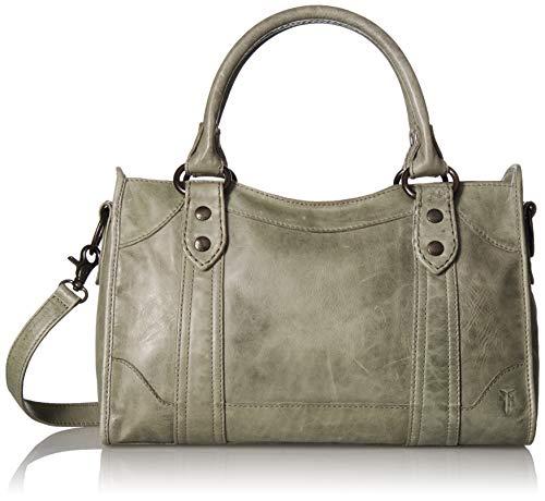 Frye Melissa Zip Satchel Leather Handbag, Fern