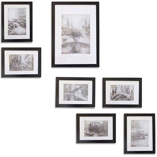 Giftgarden cornice per foto da parete multifoto diy wall - Cornici da parete per foto ...