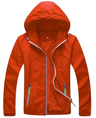Jacket Dry Hoodie Windbeaker Quick Coat Thin TTYLLMAO Breathable 1 Mens qRZ1S