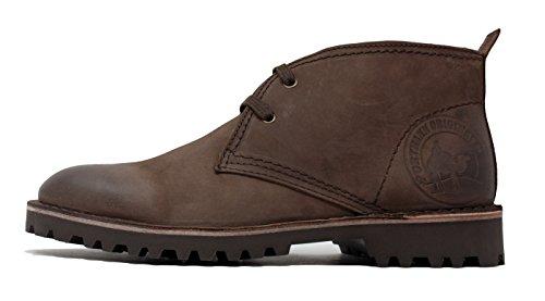 Stivali Chukka Portmann Desert Antique Leather Oliato | Stivali Estivi | Suola Extralight | Fatto In Europa. Cioccolato Fondente Nubuck