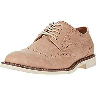 Tommy Hilfiger Men's Gendry Oxford, Light Pink, 10.5