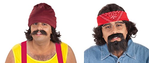 Faerynicethings Both Adult Cheech Marin and Tommy Chong