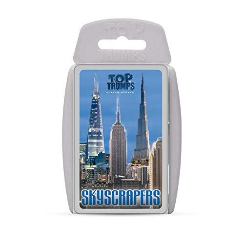 Skyscrapers Top Trumps Card Game