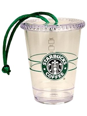 Starbucks Christmas Ornament Clear To Go Cup - 2009 - Amazon.com: Starbucks Christmas Ornament Clear To Go Cup - 2009