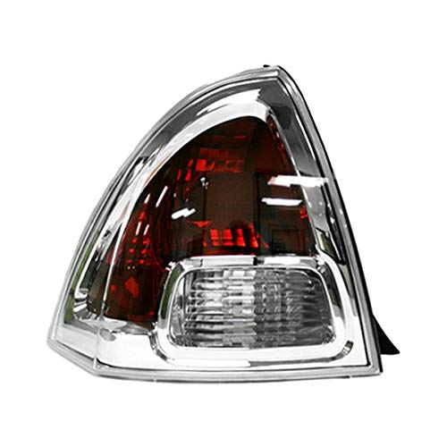 (Value Tail Lamp Lens and Housing Rear Left Fits 2006-2009 Ford Fusion OE Quality Replacement)