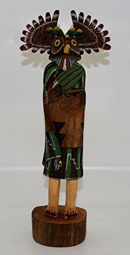 Hopi Owl Cottonwood Kachina Sclupture (Doll Kachina Owl)