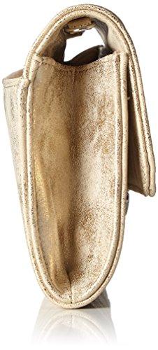 Belmondo Damen 740274 Schultertasche, 15x30x2 cm Gold (Oro)