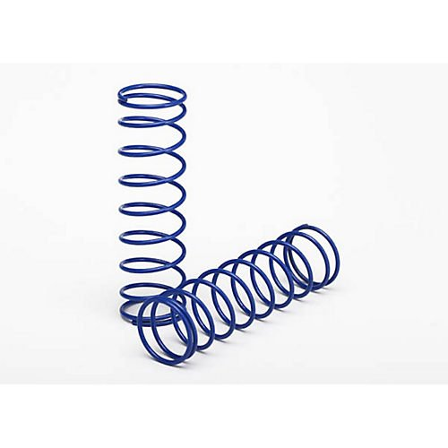Rear Springs, Blue (2): Son-Uva Digger Traxxas
