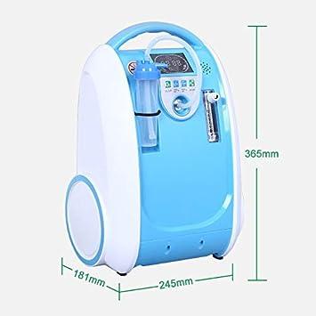 Olive Concentrador de oxígeno portátil Dorka, 1-5 L/min, máquina ...