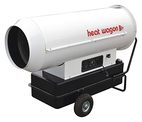 Heat Wagon DF600 - Oil Fired Forced Air Heater 600 000 BtuH