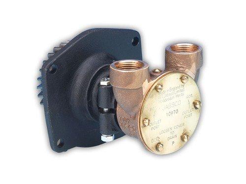 JAB 10970 Raw Water Pump, Gear Driven, 3/4 NPT Ports, replac