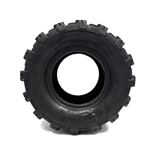SET OF TWO (2) 18x9.5-8 Tires 4 Ply Lawn Mower Garden Tractor 18-9.50-8 Turf Grip Tread by MMG (Image #3)