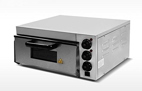 Commercial Electric Pizza Oven With Timer for Making Bread Cake Pizza 220V