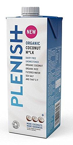 Plenish Organic Coconut Milk 1 Litre (Pack of 8) by Plenish