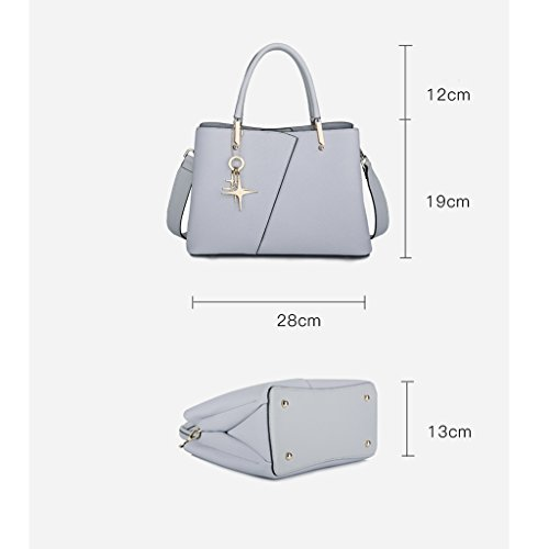 JIUTE C C Shoulder Capacity Ms Bag High Pendant Female Metal Shoulder Color Bag Summer Messenger Messenger Korean rwAarZxT