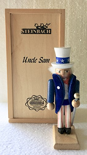 (Steinbach Mini Uncle Sam Nutcracker)