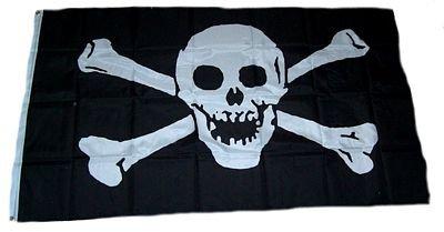 Fahne / Flagge Pirat Seeräuber NEU 90 x 150 cm Flaggen