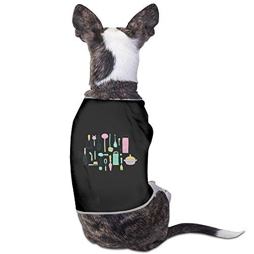 [Custom Pet Custume Vintage Kitchen Utensils For Dog Cats 100% Polyester] (Belgium National Costume Dress)