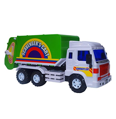 Big-Daddy Medium Duty Friction Powered Garbage Truck