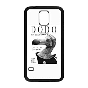 Samsung Galaxy S5 Phone Case Covers Black Dodo Magazine DVQ Durable Personalized Case