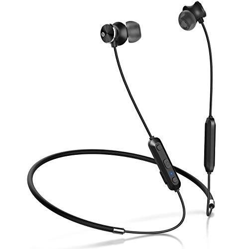 Humixx Wireless Headphones Sports Wireless Bluetooth Earphones Apt-X Stereo Magnetic In-ear Earbuds with Mic and Secure Fit for Sports, Gym, Travelling
