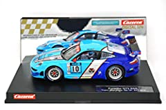 headlights and rear-/brakelight Official Carrera Quality Product A dangerous rival The Porsche GT3 RSR was designed for long distance racing, and the 4.0-litre, 6 cyclinder boxer motor makes it an opponent to be taken seriously. No joking! ...