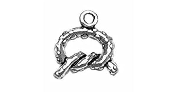 Sterling Silver Girls .8mm Box Chain 3D Old Time Medical Nursemaid In Dress Pendant Necklace
