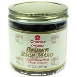 OHSAWA® YAMAKI ORGANIC 2-YR BROWN RICE MISO 1 LB