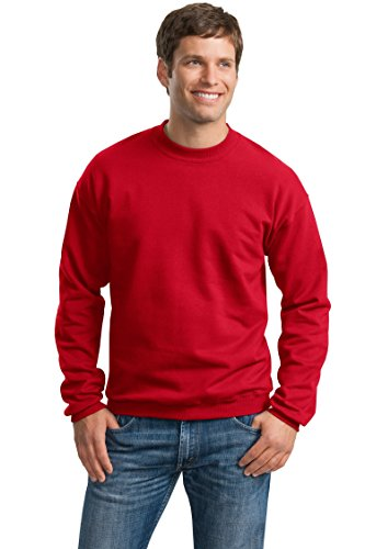 Price comparison product image Gildan 9000 10 oz. Sweatshirt,X-Large,Red